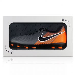 Iniesta Signed Football Boot In Gift Box