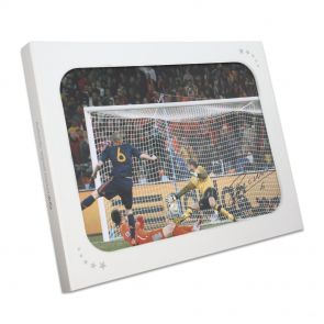 Andres Iniesta Signed Photo In Gift Box