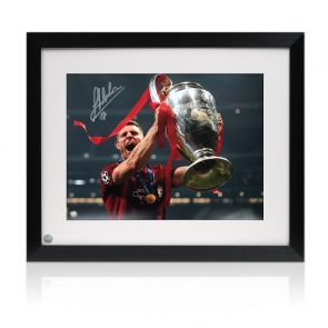 James Milner Signed Liverpool Photo: 2019 Champions League Winner Framed