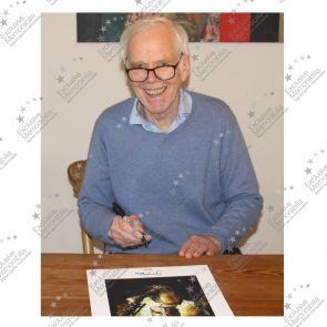 Boba Fett Signed Star Wars Poster In Gift Box