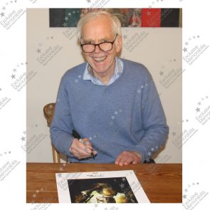 Boba Fett Signed Star Wars Poster