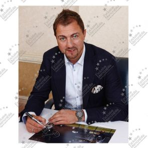 Jerzy Dudek Signed Liverpool Photo: The Shevchenko Save. Damaged Stock B