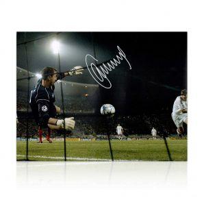Jerzy Dudek Signed Liverpool Photo: The Shevchenko Save. In Gift Box