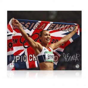Signed Jessica Ennis Photo