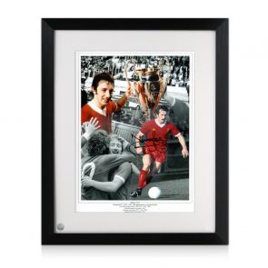 Jimmy Case Signed Liverpool FC Photograph Framed