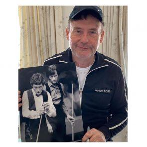 Jimmy White Signed Photo: World Snooker Championship Semi-Final