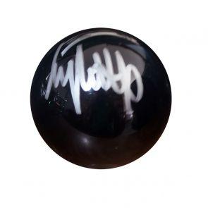 Jimmy White Signed Black Snooker Ball