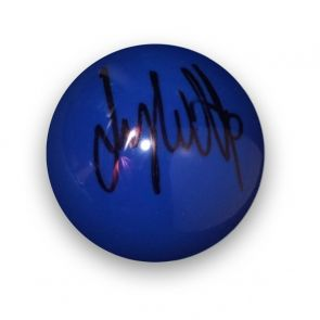 Jimmy White Signed Blue Snooker Ball