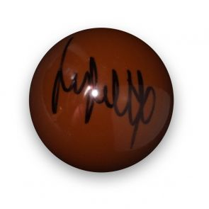 Jimmy White Signed Brown Snooker Ball
