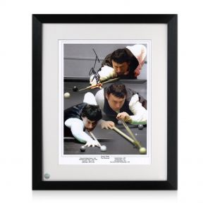 Jimmy White Signed Snooker Montage
