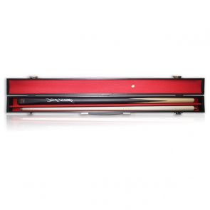 Jimmy White Signed Snooker Cue. In Display Case