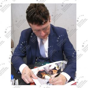 Jimmy White Signed Snooker Photo: The Whirlwind