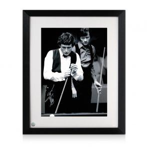 Jimmy White Signed Photo: World Snooker Championship Semi-Final. Framed