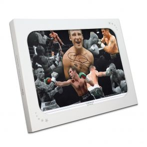Joe Calzaghe Signed Photo In Gift Box