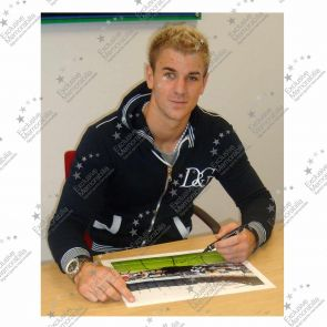 Joe Hart Signed Manchester City Photograph: Penalty Save