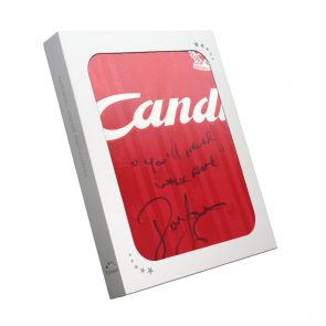 John Barnes Signed Liverpool Shirt In Gift Box