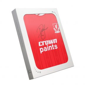 John Barnes Signed Liverpool Shirt In Gift Box