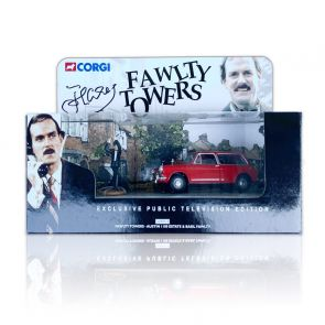 John Cleese Signed Corgi Austin 1100 Model Car
