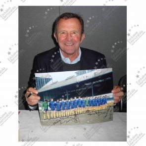 Framed Chelsea 1970s Legends Signed Photo