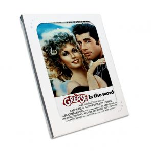 John Travolta Signed Grease Poster. In Gift Box
