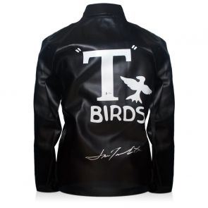 John Travolta Signed T-Birds Jacket