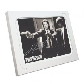 John Travolta Pulp Fiction Signed Poster: Divine Intervention. In Gift Box