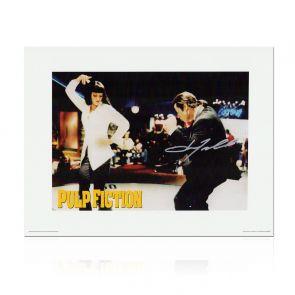 John Travolta Pulp Fiction Signed Poster: The Dance