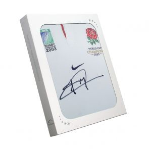 Jonny Wilkinson Signed Official England Rugby Shirt In Gift Box