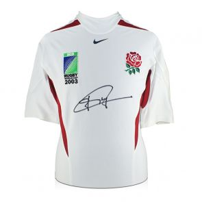 Jonny Wilkinson Signed Rugby World Cup 2003 Player Issue Shirt