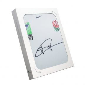 Jonny Wilkinson Signed World Cup 2003 Player Issue Shirt Gift Box