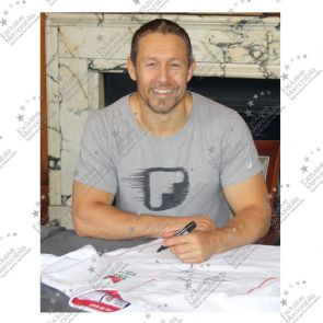 Jonny Wilkinson Signed England Rugby Shirt - With Respect