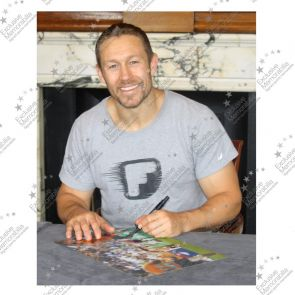 Jonny Wilkinson Signed 2003 Rugby World Cup Photo: Moment Of Glory Deluxe Frame