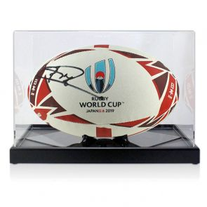Jonny Wilkinson Signed England 2019 Rugby World Cup Ball In Display Case