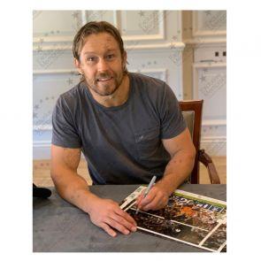 Jonny Wilkinson Signed 2003 Rugby World Cup Photo: Winning Drop-Goal. Framed