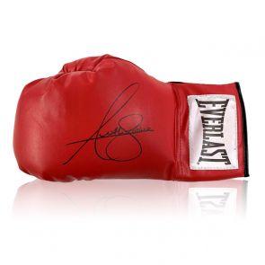 Anthony Joshua Signed Red Boxing Glove