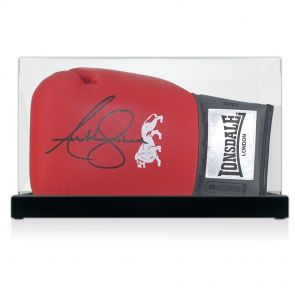 Signed Anthony Joshua Boxing Glove