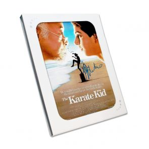 Ralph Macchio Signed Karate Kid Poster. In Gift Box
