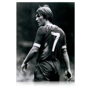 Kenny Dalglish Signed Liverpool Photo: The King's Debut In Gift Box