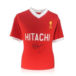 Kenny Dalglish Signed Liverpool Football Shirt 1978. In Gift Box