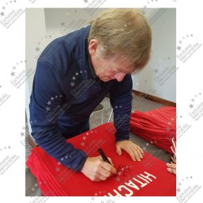 Kenny Dalglish Signed Liverpool Football Shirt 1978
