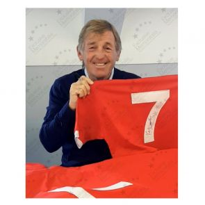 Kenny Dalglish Signed Liverpool Shirt. Number 7. In Gift Box