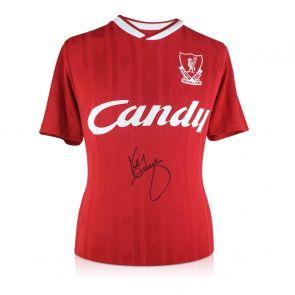 Kenny Dalglish Signed Liverpool 1989 Shirt