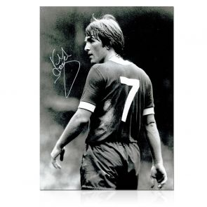 Kenny Dalglish Liverpool Signed Photo: The King's Debut