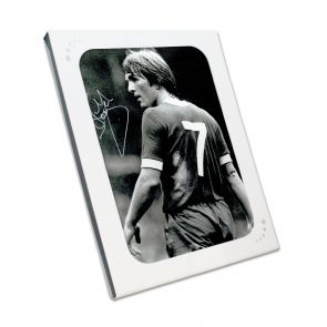 Kenny Dalglish Liverpool Signed Photo: The King's Debut. In Gift Box