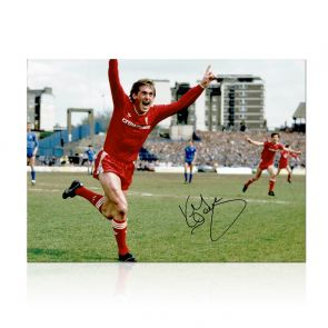 Kenny Dalglish Signed Liverpool Photo: The Winning Goal