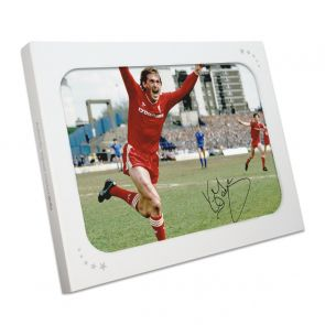 Kenny Dalglish Signed Liverpool Photo: The Winning Goal. In Gift Box