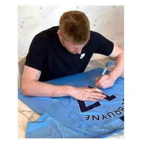 Kevin De Bruyne Signed Manchester City 2018-19 Shirt