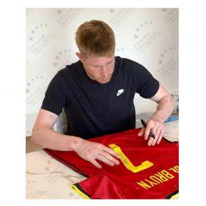 Kevin De Bruyne Signed Belgium Shirt