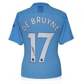 Kevin De Bruyne Signed Manchester City 2019-20 Shirt