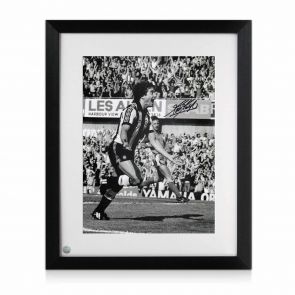 Kevin Keegan Signed Newcastle Photo. Framed